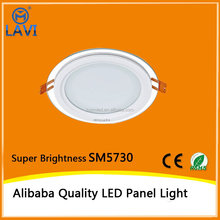 LED manufacture top quality Aluminum+LGP kitchen ultra slim led panel light
