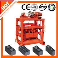 Used hollow block making machinery QTJ4-40B2 concrete brick making machine in india price