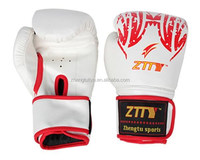 High quality Factory Cheap price wholesale design your own cool design custom logo PU Leather boxing gloves,