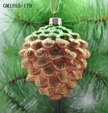 Best vidro de suspensão do natal de frutas para decoração