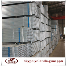 ERW galvanized square pipe/round pipes/rectangle steel pipe and tubes for construction