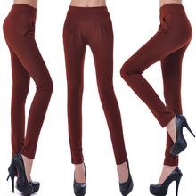 Shiha Lun Autumn big yards female harem pants casual pants women's feet tide pencil pants bottoming wholesale