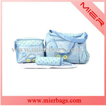2015 hot Muti-function baby nappy changing pack travel diaper bag for mummy