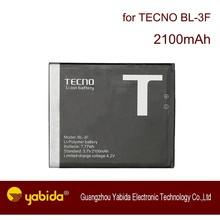 Factory Price Original TECNO Mobile phone battery BL-3F 2100mAh li-Polymer cellphone battery