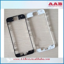Metal frame for iphone lcd bezel frame with liquid glue strong quality