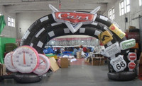 Custom inflatable arch/Advertising arch door 3m Span*5m tall