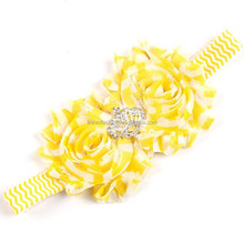 Baby girls Flowers Headband Hair Accessory Hair Bands, lace flower baby headwear with rhinestone