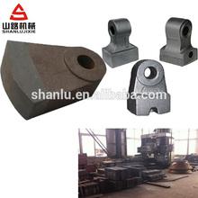 acero de alto manganeso trituradora de piezas de repuesto de aplastar swing martillo martillo