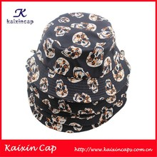 Funky Skull Bucket Hat Plain Custom Unisex Fisherman Caps