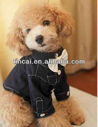 Fine Cotton Dog shirt with bow tie