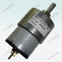 GM37-520TB 12v high torque motor low rpm gear motor