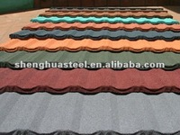 new design color Stone Coated Metal Roof Tile