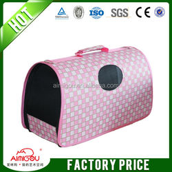 Soft-Sided Kennel Cab Pet Carrier Large Pink
