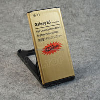 4200mAh Mobile Phone Battery High Quality Gold Battery for Samsung Galaxy S5 i9600 with NFC