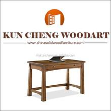 elegant simple design wood writing desk/laptop desk antique commercial furniture