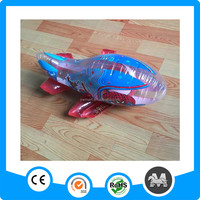 40cm Printed spiderman inflatable airplane for kids