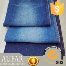 32374 indigo cotton polyester spandex jeans denim stock
