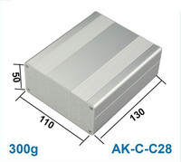 1.97*4.33*5.12inch customized aluminum enclosure as project box and switch housing made in China