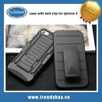 case with belt clip card case for iphone 5
