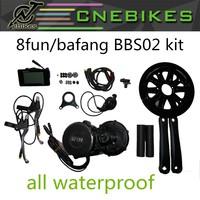 750w 48V 8fun mid drive motor kits ebike crank conversion kit with battery