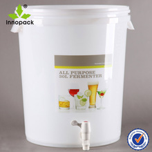 30l plastic wine making equipment with liter scale
