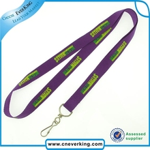professional manufacturer promotion wholesale purple lanyards