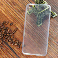 Cell Phone Ultra Thin Clear TPU Case With Camera Lens Protect