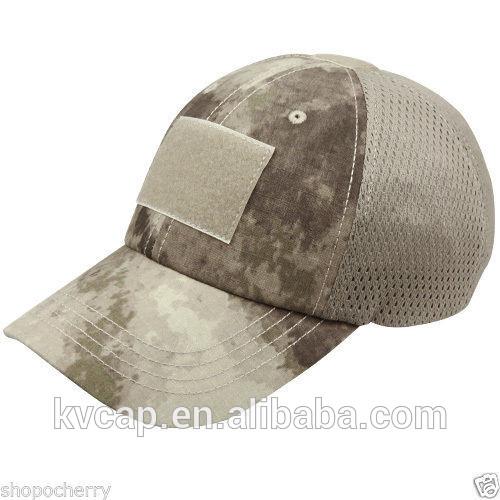 Nova um- tac condor tcm tático malha tampa w/velcro patch bandeira chapéu militar