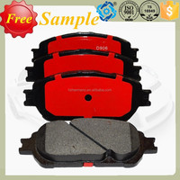 Wholesale Renault auto brake parts brake pads D906 backing plate for sale in Germany