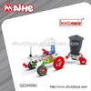 magic building blocks,diy children's toy cart,truck assemble toy