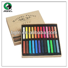 Maries 24 colors color soft pastel set for painting