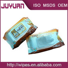 functionality wet wipes or leather products moist tissue