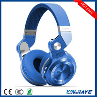 Factory wholesale wireless fashionable foldable bluetooth headphone, sport bluetooth headset BT 4.1 support FM radio& SD card