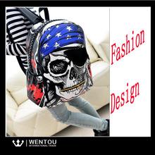 European Style Street Leisure Backpack Skull