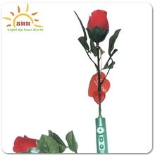 single rose flower Natural preserved single rose flower for wedding decoration and Valentine's gift