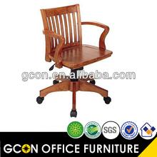 antiguos de madera giratorio silla de oficina sillas gcon 105 tipo