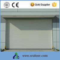 Caribbean Windproof Automatic panel rolling Doors/Aluminum roller shutter