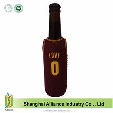 Basketball Cloth Shape Single Beer Wine Water Neoprene Bottle Cooler Bag