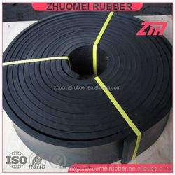 Black Extruded Conveyor Skirting Rubber