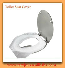 Eco-friendly travel pack disposable paper toilet seat covers
