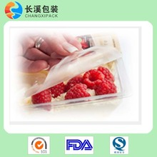 food grade high barrier tray peelable lidding film