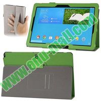Plain Texture Leather Smart case for samsung galaxy note pro 12.2 with Armband and Card Slots