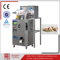 MD160-02 Machine to make empty pyramids tea bags with thread attached
