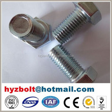 Grade 8.8s 10.9s alloy steel hex head bolt with f436 washer