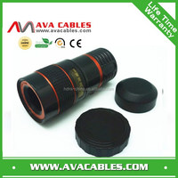 universal zoom lens camera telephoto lens with coated optical glass 8X 12X zoom telephoto lens