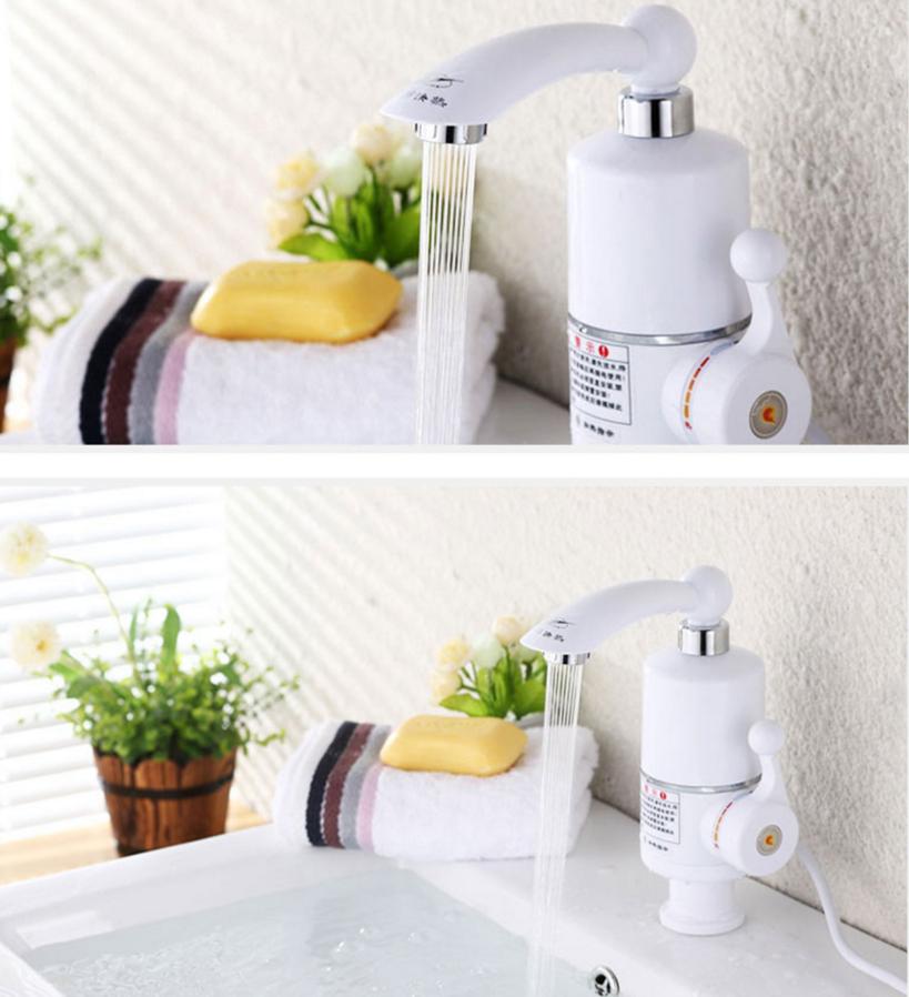 rapide chauffage lectrique chauffe eau chaude instantan e. Black Bedroom Furniture Sets. Home Design Ideas