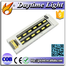 Led DRL Day Time Running Light LED 12V 20W Plastic Cover Led Day Lights for Cars with 12 Monthes Warranty