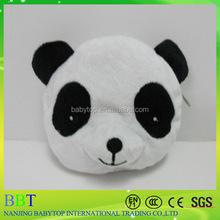 wholesale custom cheap zipper coin purse plush panda