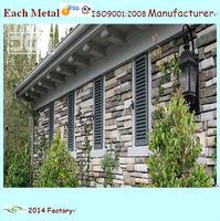 decorate aluminum outdoor window shutter