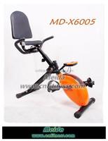 2013 hot sale foldable recumbent magnetic exercise bike